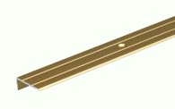 GAH Treppenkanten-Schutzprofil/1M Alu Goldf.Elox 24.5X10X1.5mm - 476663