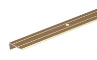 GAH Treppenkanten-Schutzprofil/1M Alu Goldf.Elox 24.5X20X1.5mm - 476762