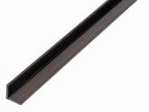GAH Winkelprofil/1 M 10X10X1 mm Kunststoff Schwarz - 479008