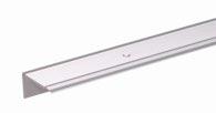 GAH Treppenkanten-Schutzprofil/1M Alu Silberf.Elox 45X23X2.7mm - 484002