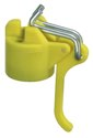 GAH Leinenspannerk.F.42mm Wäschep Kunststoff Gelb - 654252