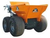 ALTRAD BMD 300 Minidumper orange mit Rasenreifen - BEBMD01T