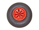 LIMEX Schubkarrenrad KS 3,5x6 für  BM-Karre 80l Starco rot mit Überdruckventil - LX10212763