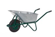 LIMEX Bauschubkarre grün 100 L - LX11002030