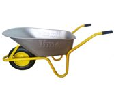 LIMEX Bauschubkarre gelb 100 L - LX55000010