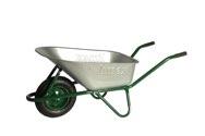 LIMEX Profi Baukarre grün 100l mit Vollgummirad  - LX11002490