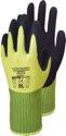 TRIUSO Comfort - PES-Strickhandschuh mit Latex, SB-Karte, Größe 10 / XL - HWG310H10