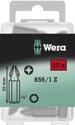 Wera 855/1 Z PZ Bits 10 x PZ 1x25