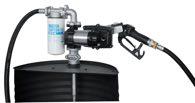 ZUWA Fasspumpe Diesel/Benzin/Kerosin EX50 AC 230V ATEX; mit automat. Zapfpistole, ohne Zählwerk - P37401