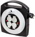 Brennenstuhl Primera-Line Kabelbox-S 4-fach mit Schalter schwarz/lichtgrau 10m H05VV-F 3G1,5