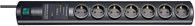 Brennenstuhl Primera-Tec DigiMaster 19.500A Überspannungsschutz-Steckdosenleiste 7-fach schwarz - 1153300477