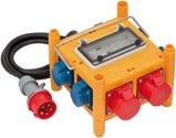 Brennenstuhl Stromverteiler BSV 3 - FI/16 IP44