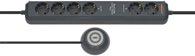 Brennenstuhl Eco-Line Comfort Switch Plus EL CSP 24 Steckdosenleiste 6-fach ant