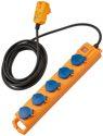 Brennenstuhl Stedo-Leiste Supersolid 5F Gelb/Blau 5M M.Fi-Stecker IP54 - 1159900805