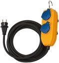 Brennenstuhl Baustellenkabel IP54 mit Powerblock 10m schwarz H07RN-F3G1,5 - 1151740010