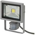 Brennenstuhl Chip-LED-Leuchte L CN 120 C PIR IP44 mit Infrarot-Bewegungsm. 20W 3m zur Wandmontage - 1171250702 (EEK: A)