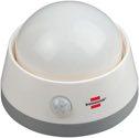 Brennenstuhl Batterie LED-Nachtlicht NLB 02 BS mit Infrarot-Bewegungsmelder und Push-Schalter 6 LED - 1173290