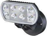 Brennenstuhl - LED-Wandstrahler L801 schwarz IP55 (EEK: A)