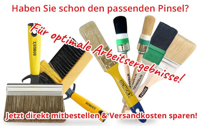 Bondex Farbe Lack Öl Lasur Pinsel