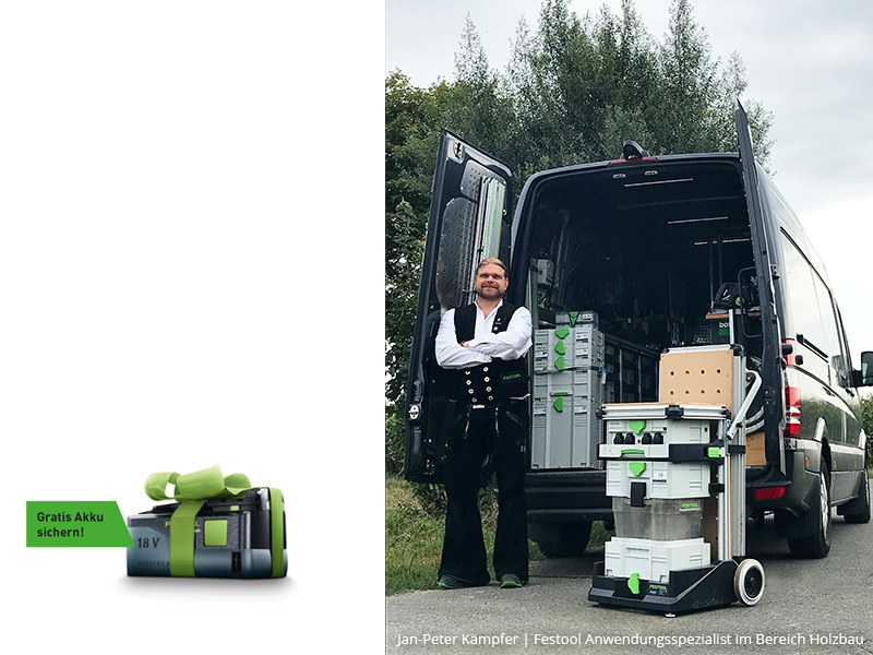 Festool Aktionstag bei Rubart in Dortmund 16.05.2019