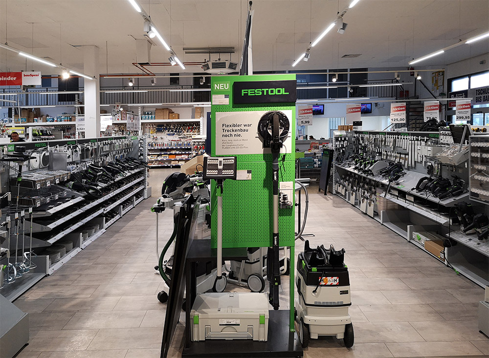 Festool Ausstellung Showroom in Dortmund Körne