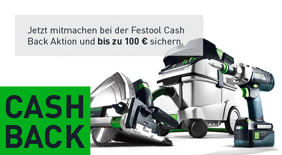 Festool Cash Back 2019