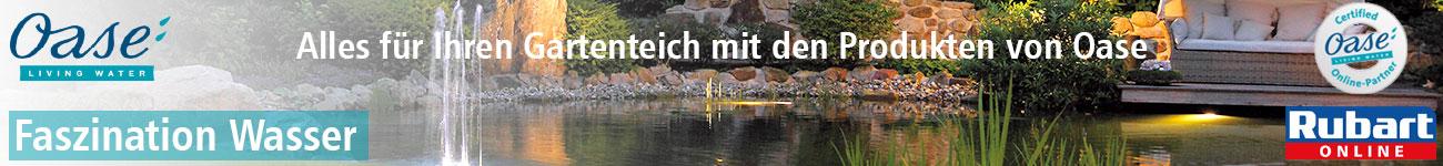 Oase Living Water Produkte für den Gartenteich günstig bei Rubart.de