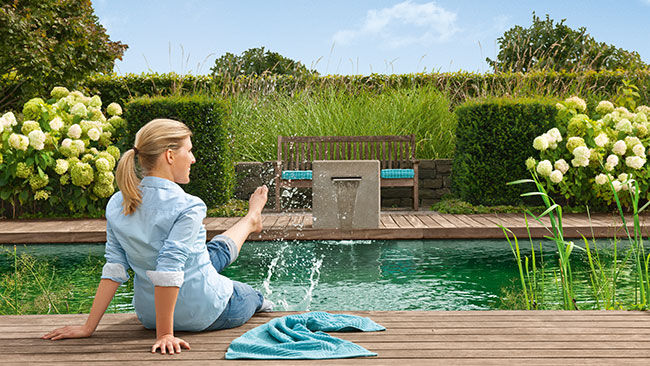 Oase Living Water Innovation rund ums Wasser Gartenteich Teich Schwimmteich