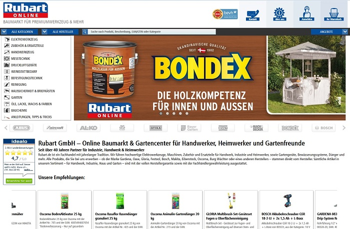 rubart.de - neues Design