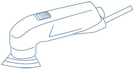 Schleifer Poliermaschine