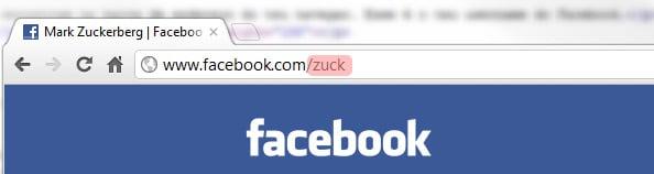 Obter username do Facebook