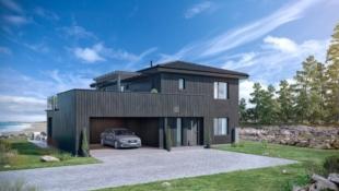 Prosjektert enebolig fra SKALAHUS i naturskjønne omgivelser i Haug. 4 soverom, 2 bad, carport, takterrasse og stor solfylt hage. Alt i nærhet til Nordmarka og Hønefoss sentrum.