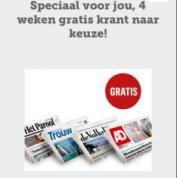 Actiekcode krant.nl voor vier weken gratis de krant naar keuze