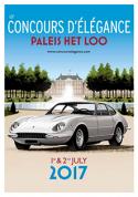 Kortingscode voor 50% korting voor concourselegance voor Concours d'élégance Paleis Het Loo (klassieke auto's) tickets voor €15