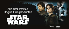 Star Wars 20% korting op alles van Star Wars