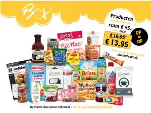 Kortingscode De happy box  voor €3 korting