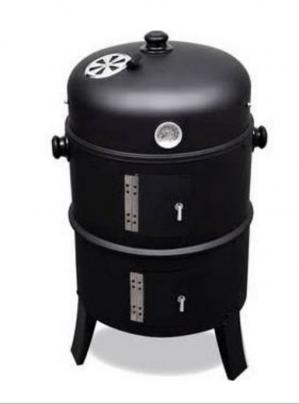 Barbecue / smoker 2-in-1 voor €39,99
