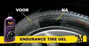Vraag nu een gratis sample van Endurance Tire Gel aan