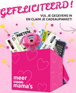 Gratis digitale cadeaupakket voor jonge moeders en zwangere vrouwen