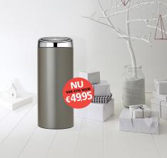 Kortingscode Brabantia voor 30 liter afvalemmer voor €49,95