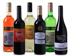6 flessen  inclusief verzendkosten voor €15