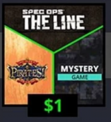 Spec Ops: The Line, Sid Meier's Pirates! + Mystery Game (Steam) voor €1