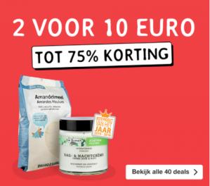 Holland Barrett acties 2 voor €10 en 2e gratis ( incl gratis verzending )