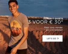 3 T-Shirts voor €30
