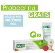 Vraag een gratis proefverpakking GUM Activital tandpasta aan