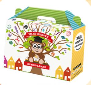 Gratis Schoolbox/schoolkoffer voor kids van groep 1