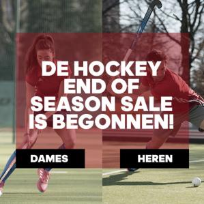 Adidas Hockey end of season sale met kortingen van -50%