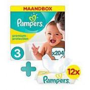 Pampers luiers en babydoekjes maandboxen met 33% korting