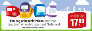 OV-Dagkaart voor €17