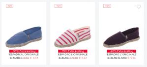 About You Schoenen sale met 70% + tot 40% extra korting